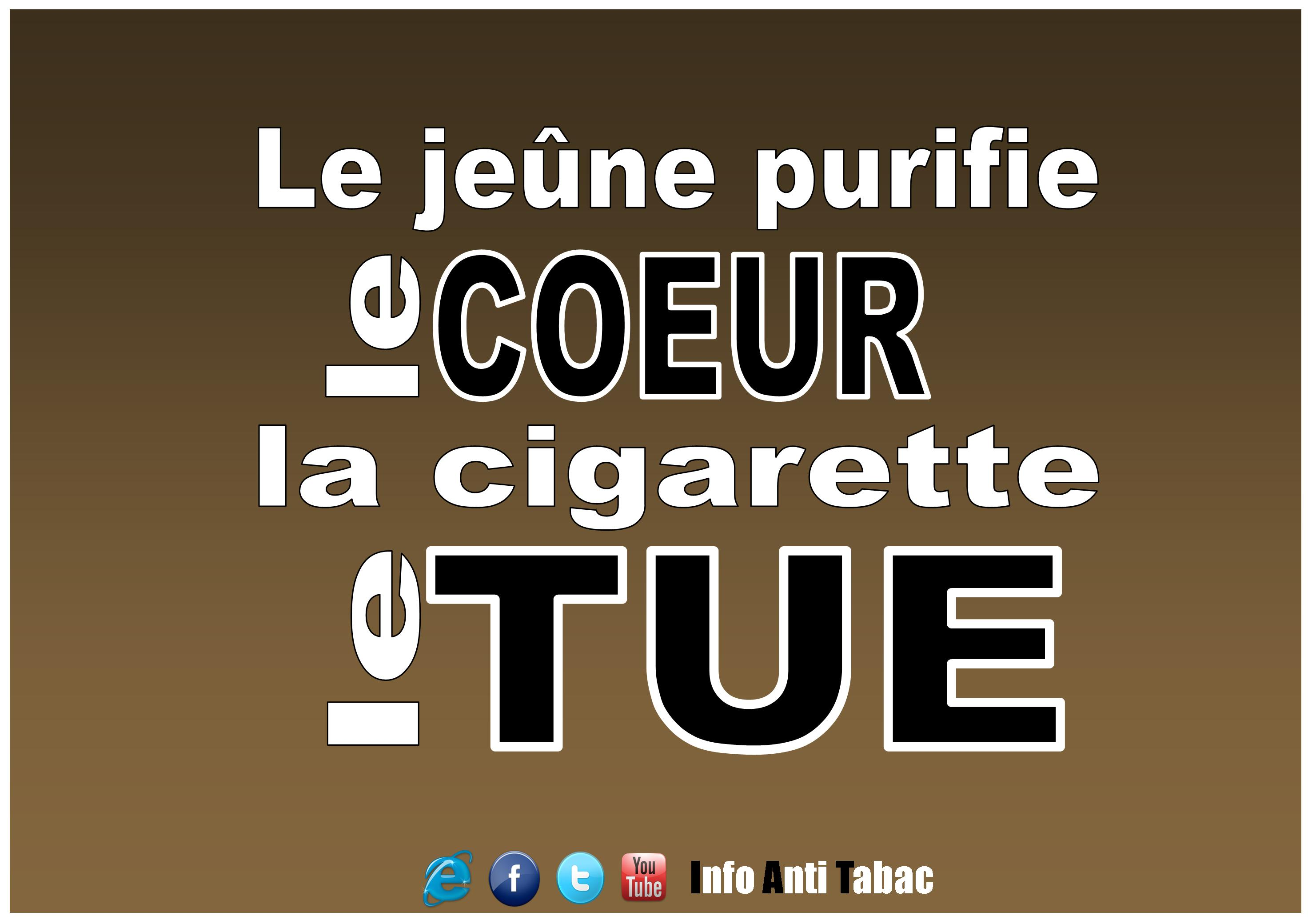 slogan anti tabac